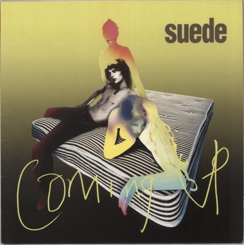 Suede Coming Up + Postcards - EX vinyl LP album (LP record) UK SUELPCO743162