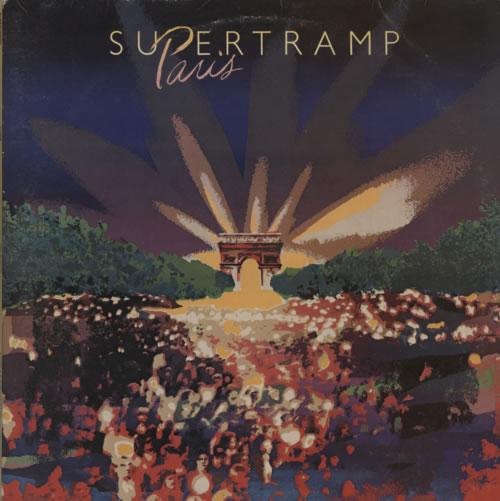 Supertramp Paris 2-LP vinyl record set (Double Album) UK SPT2LPA158828