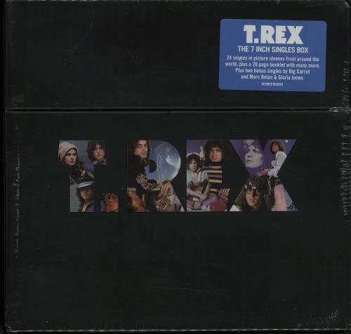 """T-Rex / Tyrannosaurus Rex The 7"""" Singles Box Set - Sealed 7"""" box set UK REX7XTH644829"""
