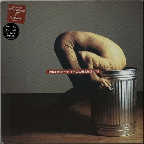 Therapy? Troublegum - Green Vinyl vinyl LP album (LP record) UK THPLPTR167852