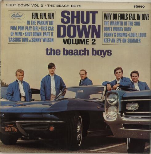The Beach Boys Shut Down Volume 2 vinyl LP album (LP record) UK BBOLPSH686806