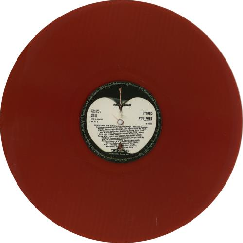The Beatles Abbey Road - Red Vinyl - Only 4 made! vinyl LP album (LP record) UK BTLLPAB242324