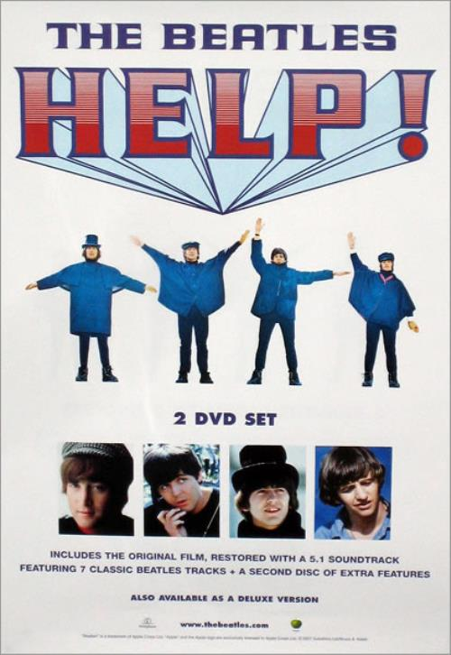 The Beatles Help UK Promo poster (427953)