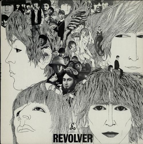 The Beatles Revolver - EMI - Glossy vinyl LP album (LP record) UK BTLLPRE551686