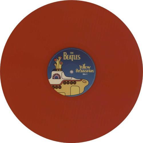 The Beatles Yellow Submarine Songtrack - Red Vinyl vinyl LP album (LP record) UK BTLLPYE241332