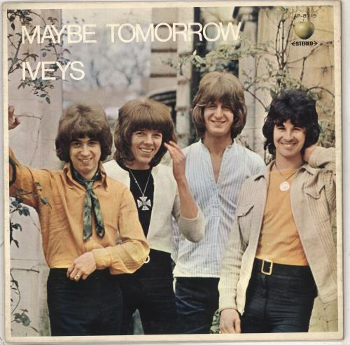 The Iveys Maybe Tomorrow - Promo vinyl LP album (LP record) Japanese IVYLPMA711727