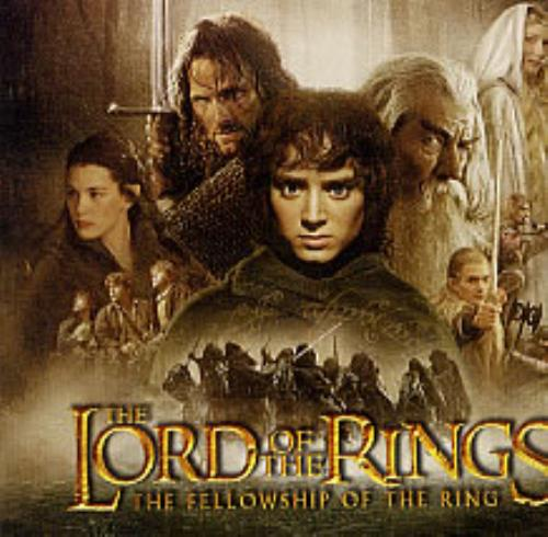 The Lord Of The Rings The Fellowship Of The Ring Us Promo
