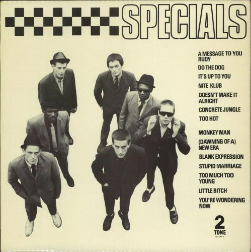 The Specials Specials - 1st - EX vinyl LP album (LP record) UK SPELPSP700534