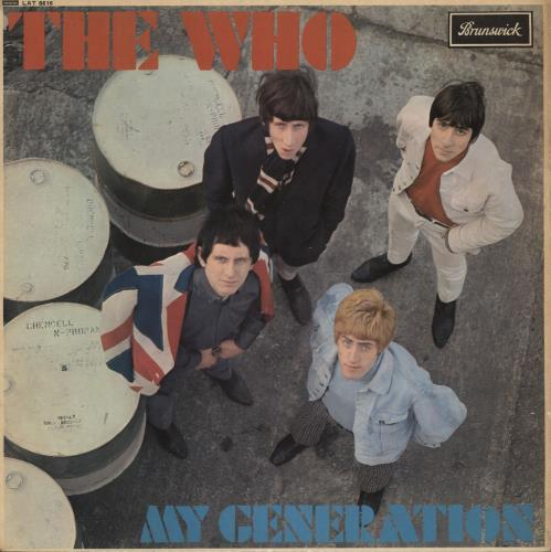The Who My Generation - 1st - EX/VG+ vinyl LP album (LP record) UK WHOLPMY730152
