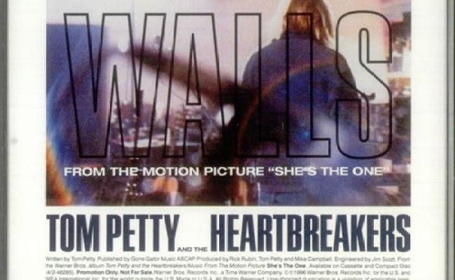 Tom Petty The Heartbreakers Walls Us Promo Cd Single