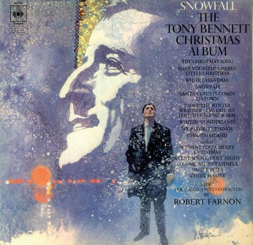 Tony Bennett Snowfall The Tony Bennett Christmas Album UK Vinyl LP Album LP Record 450504
