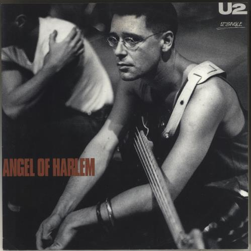 "U2 Angel Of Harlem - Red Vinyl 12"" vinyl single (12 inch record / Maxi-single) Australian U-212AN28815"