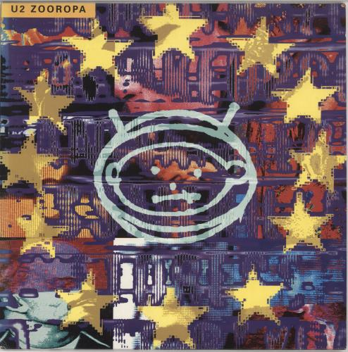 U2 Zooropa - VG vinyl LP album (LP record) UK U-2LPZO723149