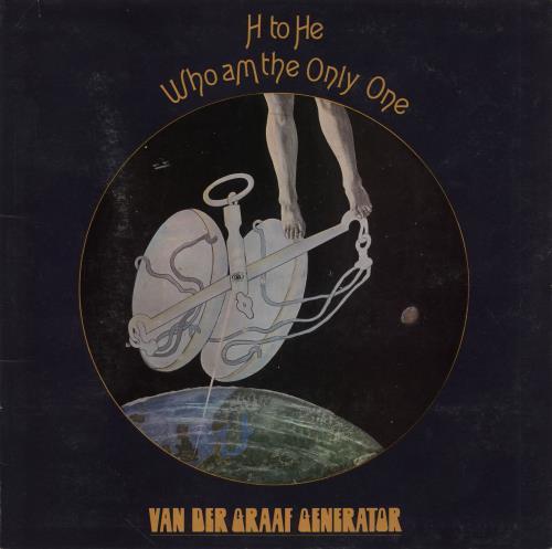 Van Der Graaf Generator H To He, Who Am The Only One - 1st - EX vinyl LP album (LP record) UK VDGLPHT683707
