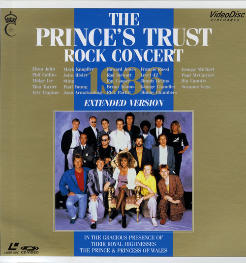 Various Artists The Prince's Trust Rock Concert 1986