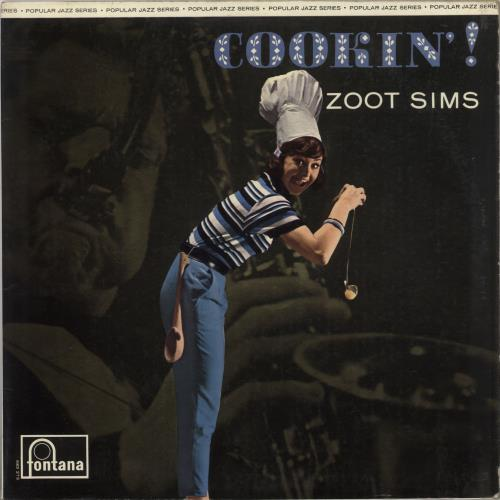 Zoot Sims Cookin'! vinyl LP album (LP record) UK ZA1LPCO735845