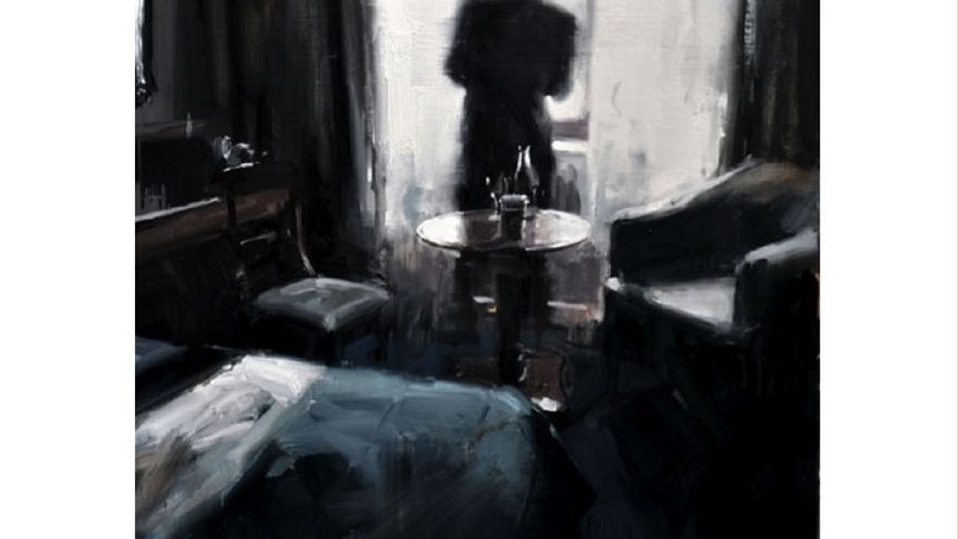 'Waiting in the hotel room' James Hart Dyke