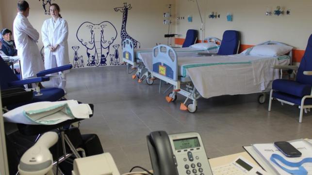 Unidad infantil en el Hospital de Toledo