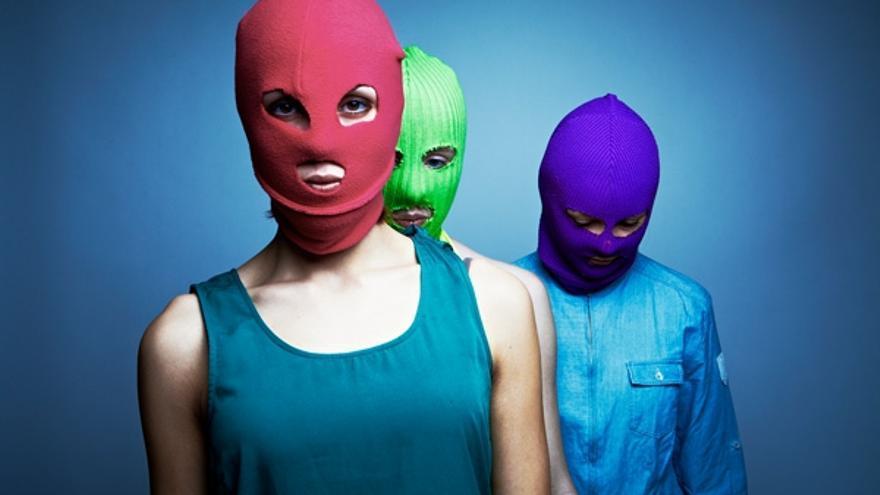 Pussy Riot: María Aliójinam, Yekaterina Samutsévich y Nadezhda Tolokónnikova