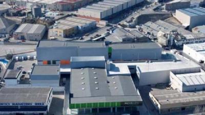 Imagen de un polígono industrial de Alcoi