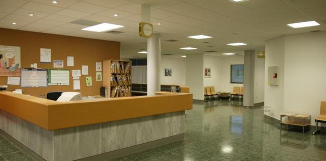 Instalaciones del Hospital Clínico de Sanitago