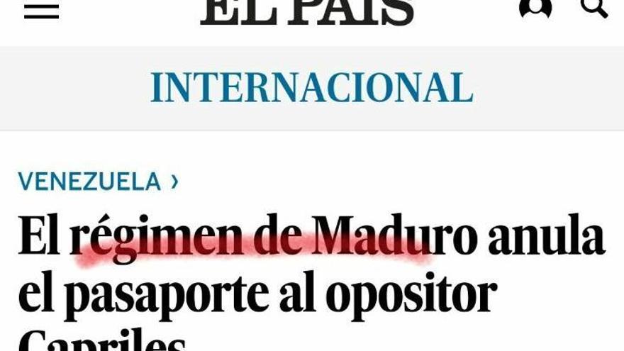 El País Maduro