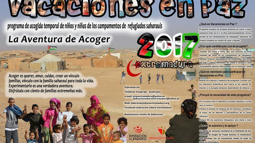 Vacaciones Paz Sahara Extremadura 2017