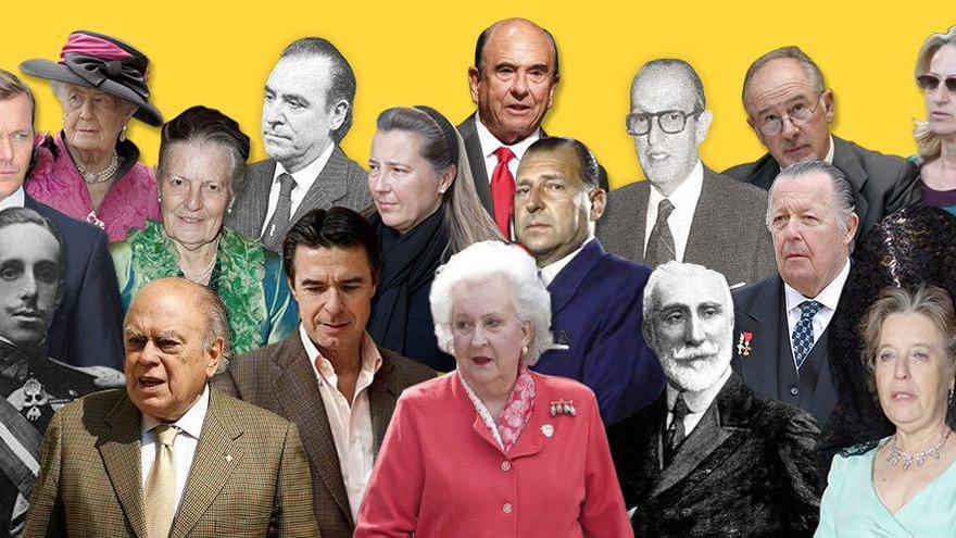 Un siglo de evasión fiscal en Los Papeles de la Castellana