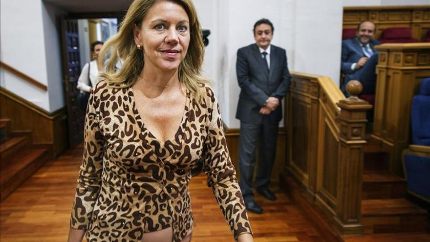 María Dolores de Cospedal, presidenta de Castilla-La Mancha.