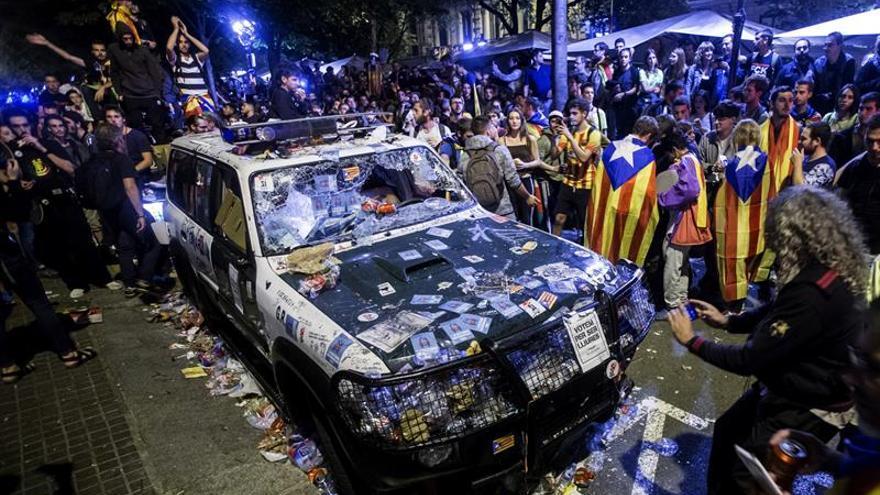 La Fiscalía pedirá investigar por sedición los disturbios en Cataluña