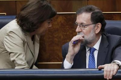 Rajoy se equivoca en una votación de los presupuestos pero sin consecuencias