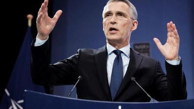 """Stoltenberg pide reforzar la OTAN para """"prevenir"""" el conflicto ante más tensiones"""