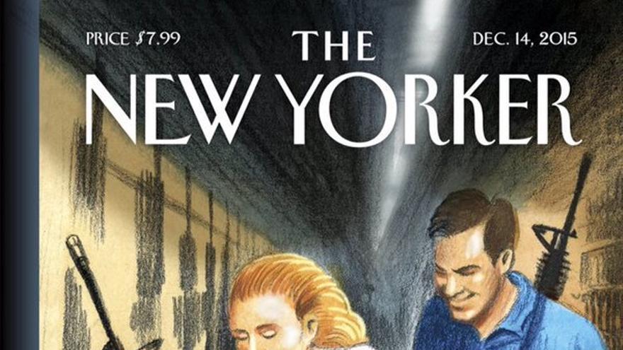 Portada del mes de diciembre de la revista The New Yorker