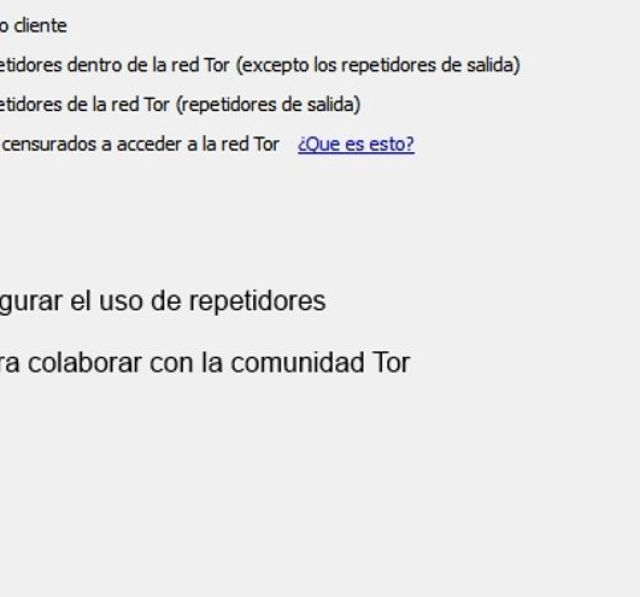 Navegación segura con Tor 6