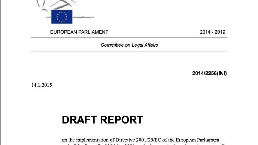 Nueva ley copyright EU