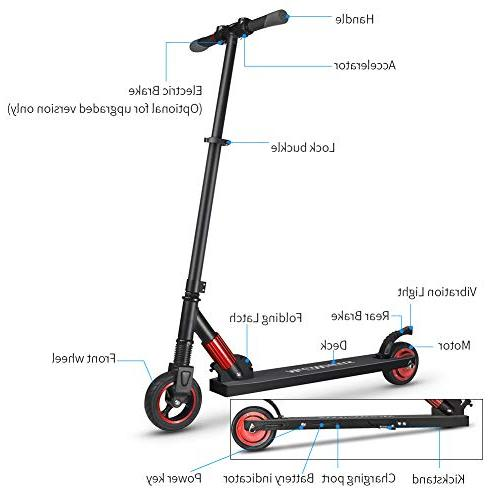 Missbee MegaWheels Electric Scooter Lightweight Folding