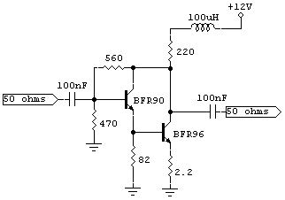 ultra broadband buffer amplifier schematic needed