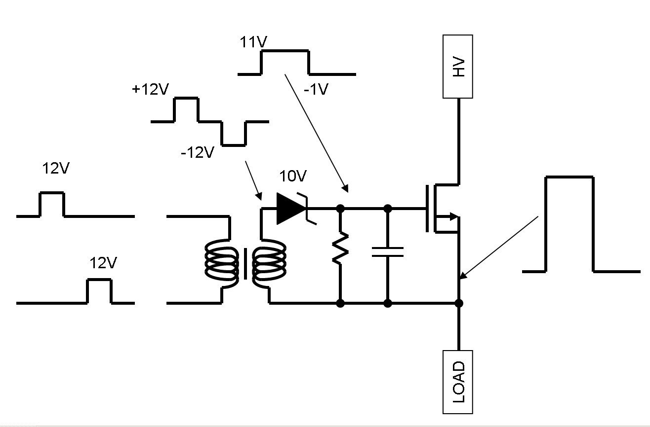 high speed high voltage level shifter page 2