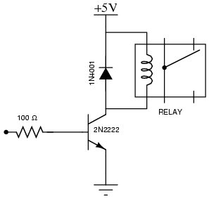 need help on energizing a 6v relay using pic16f84a