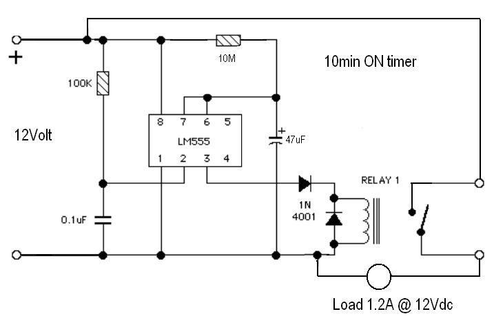 Need to remove a Relay from a timer circuit.