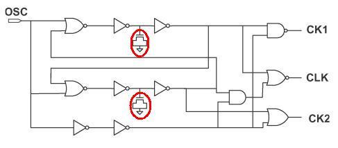 non-overlapping clock generator