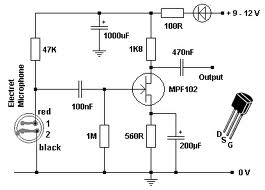 How to reduce audio noise in the pre amplifier circuit