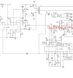 re dc to ac inverter h bridge here s the schematic  [ 1732 x 1152 Pixel ]