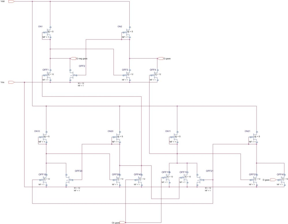 medium resolution of circuit diagram of d flip flop