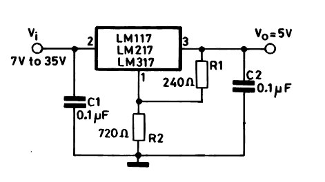 how to build a 5v 1.5 A power supply?