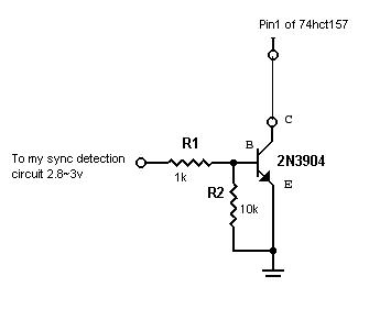 npn switch to ttl low