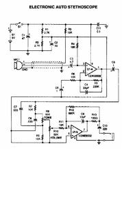 can any one explain this digitil stethoscope circuit