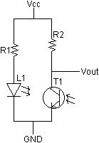 ir emitter/detector circuit