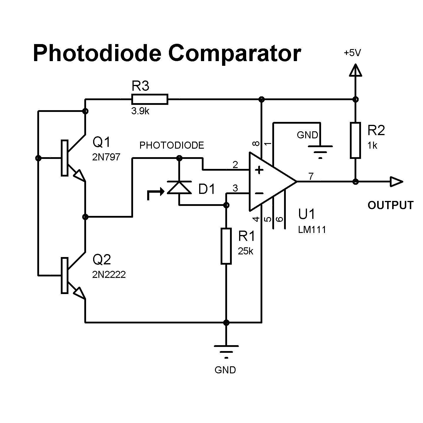 how to interface photo diode with microcontroller