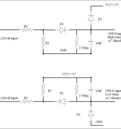 re how can i build circuit to sensing ac voltage by use pic [ 1382 x 871 Pixel ]